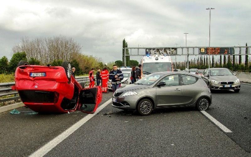 Lesiones en accidente de tráfico provocadas por conductor ebrio